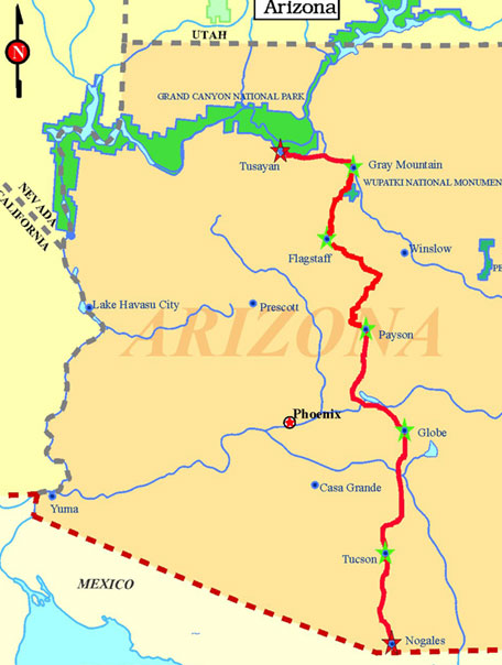 GABA Route Map
