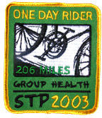 STP 1-day finisher patch