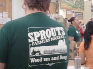 Spouts staff shirt