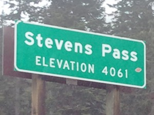 Stevens Pass-Elevation