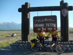 Entering Grand Teton Park