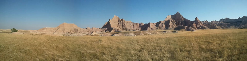 Yin & Yang: Badlands & bad roads